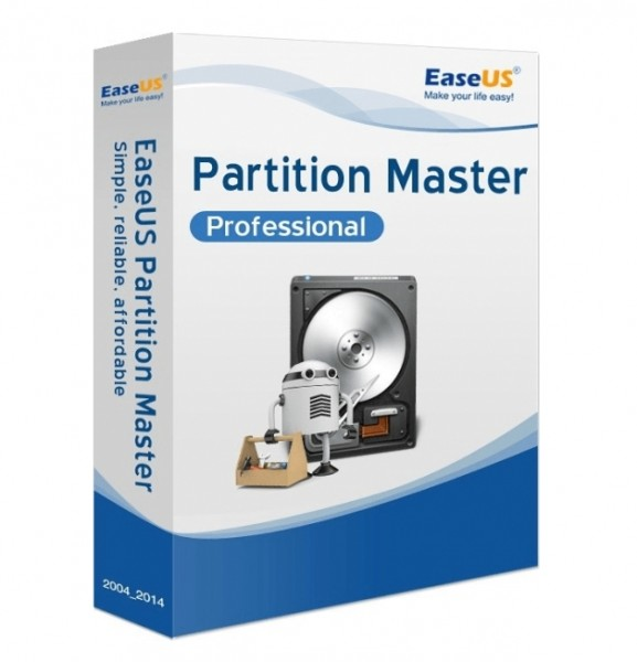 EaseUS Partition Master Professional 13.5