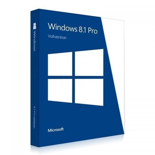 Windows 8.1 Professional 32/64 Bit licence de téléchargement de la version complète