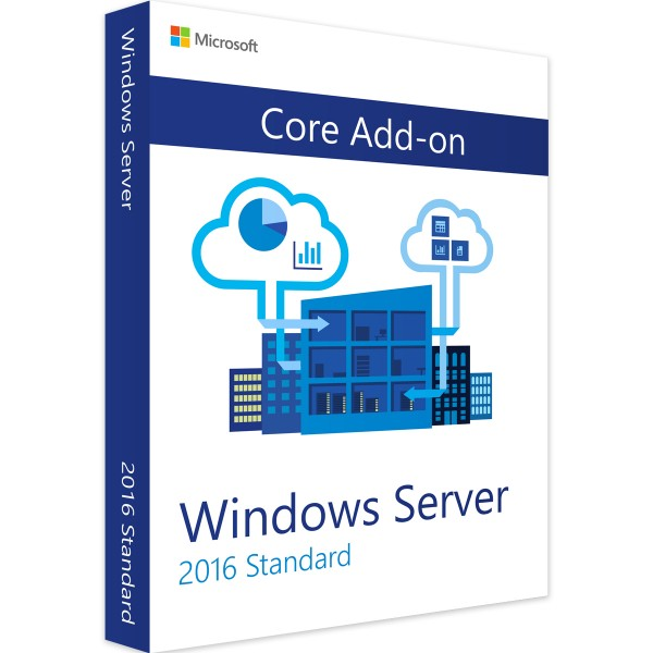 Windows Server 2016 Standard Core Add-On (2 Core)