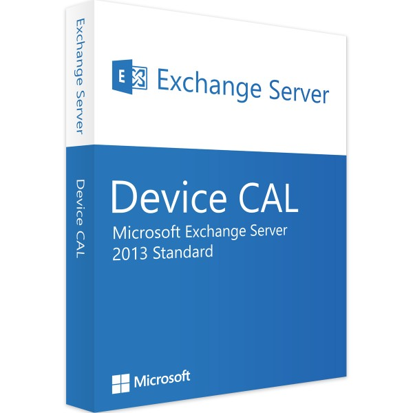 Microsoft Exchange Server 2013 Std 10 Device CALs