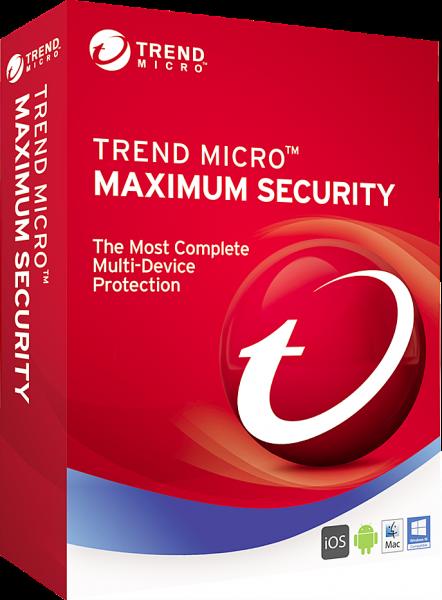 Trend Micro Maximum Security 2019