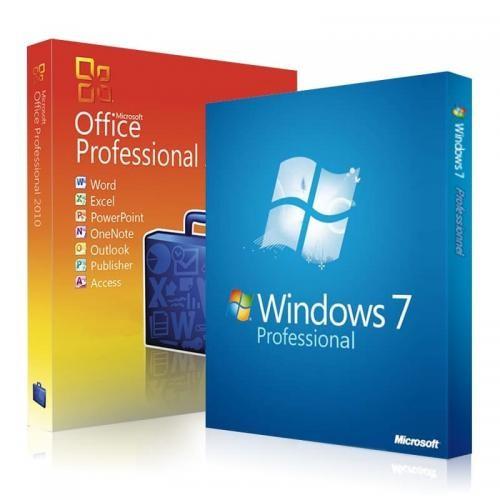 Windows 7 Professional + Office 2010 Professional Download + clé de licence