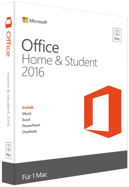 Office 2016 Home & Student pour Mac