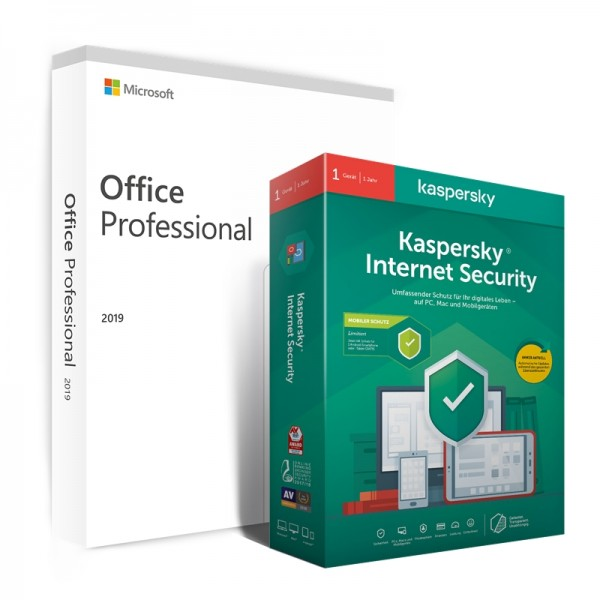 Windows 10 Home + Kaspersky Internet Security 2020