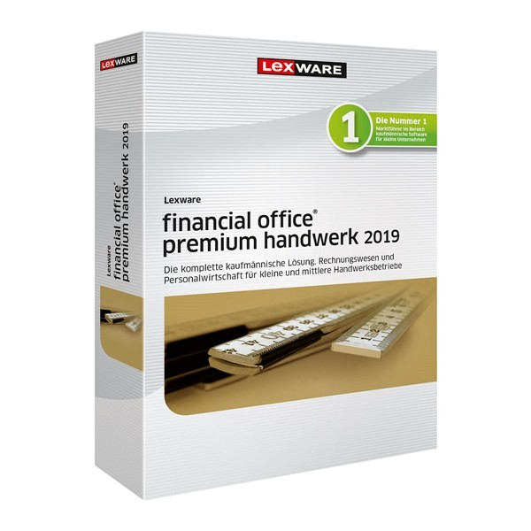 Lexware Financial Office Premium Handwerk 2019